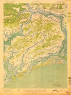 Johns Island Sc Map Johns Island Conservancy   Historic Maps